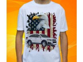 tričko s autem Chevrolet Captiva