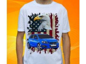 tričko s autem Chevrolet Aveo