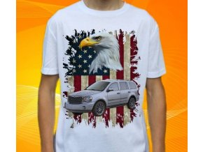 Dětské a pánské tričko s autem Chrysler Aspen