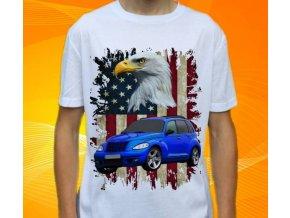 Dětské a pánské tričko s autem Chrysler PT Cruiser