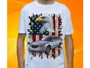 Dětské a pánské tričko s autem Chrysler Sebring