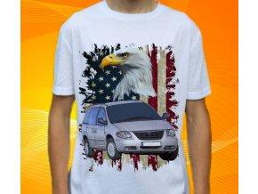 Dětské a pánské tričko s autem Chrysler Voyager