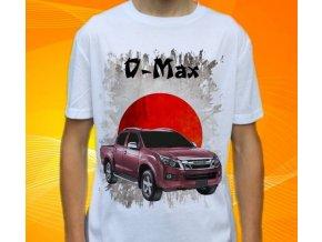 Dětské a pánské tričko s autem Isuzu D-max