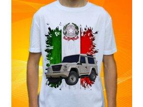 Dětské a pánské tričko s autem Iveco Campagnola