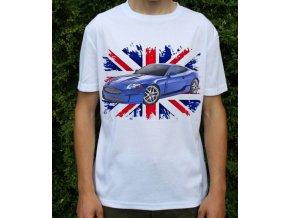 Dětské a pánské tričko s autem Jaguar XKR AJ20 Coupe