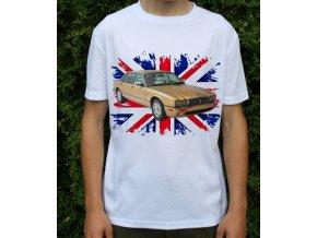 Dětské a pánské tričko s autem Jaguar XJ8 2000