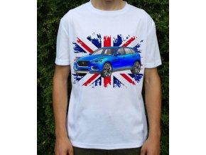 Dětské a pánské tričko s autem Jaguar CX17