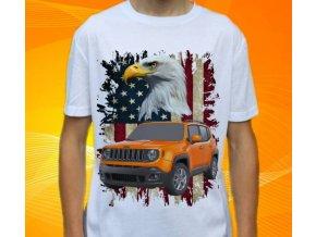 Dětské a pánské tričko s autem Jeep Renegade