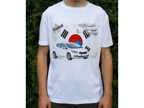 Dětské a pánské tričko s autem Kia Ceed