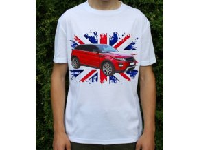 tričko s autem Land Rover Range Rover