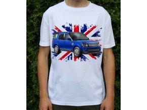 tričko s autem Land Rover Discovery