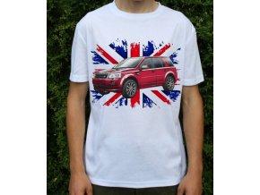 tričko s autem Land Rover Freelander