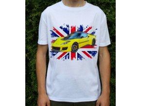 tričko s autem Lotus Evora 410