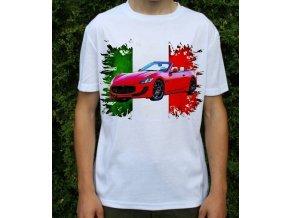 tričko s autem Maserrati