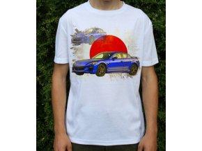 tričko s autem Mazda RX8 2009
