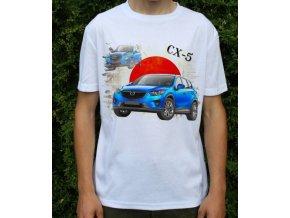 tričko s autem Mazda CX5