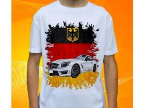 Dětské a pánské tričko s autem Mercedes Benz SL63 AMG 2013