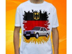 Dětské a pánské tričko s autem Mercedes Benz 190