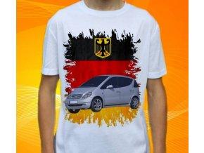 Dětské a pánské tričko s autem Mercedes Benz A168
