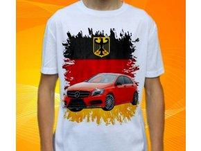 Dětské a pánské tričko s autem Mercedes Benz A176