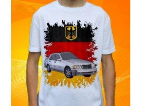 Dětské a pánské tričko s autem Mercedes Benz C202