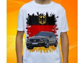 Dětské a pánské tričko s autem Mercedes Benz C203