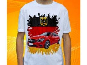 Dětské a pánské tričko s autem Mercedes Benz CLA220 Combi