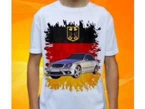 Dětské a pánské tričko s autem Mercedes Benz CLK209