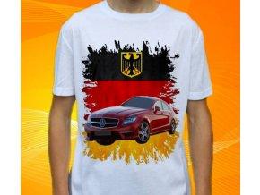 Dětské a pánské tričko s autem Mercedes Benz CLS63 AMG
