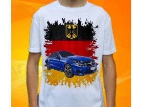 Dětské a pánské tričko s autem Mercedes Benz E350 Coupe