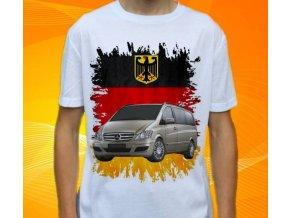 Dětské a pánské tričko s autem Mercedes Benz Viano