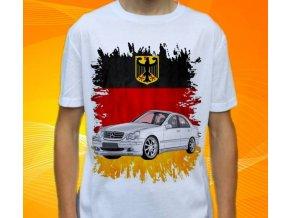 Dětské a pánské tričko s autem Mercedes Benz W203C Class