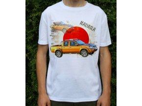 tričko s autem Nissan Navara