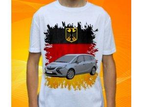 Dětské a pánské tričko s autem Opel Zafira II