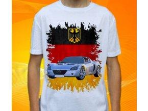 Dětské a pánské tričko s autem Opel Speedster