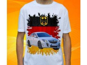 Dětské a pánské tričko s autem Opel Insignia