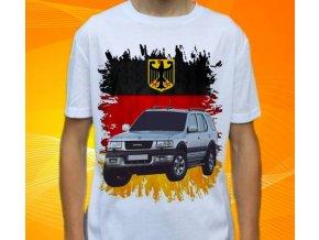 Dětské a pánské tričko s autem Opel Frontera