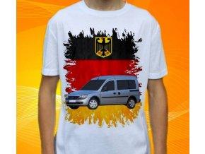 Dětské a pánské tričko s autem Opel Combo