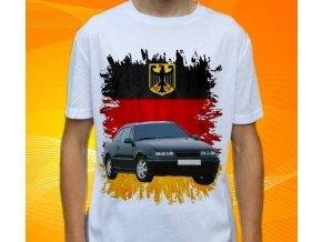 Dětské a pánské tričko s autem Opel Calibra
