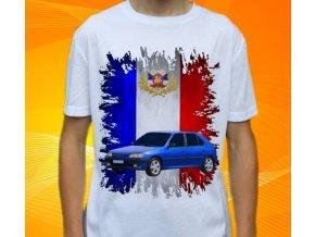 Dětské a pánské tričko s autem Peugeot 306