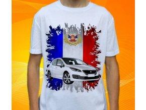 Dětské a pánské tričko s autem Peugeot 308