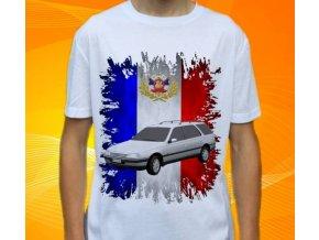 Dětské a pánské tričko s autem Peugeot 405 Combi