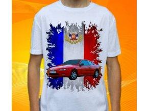 Dětské a pánské tričko s autem Peugeot 406 Coupe