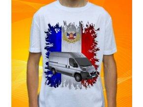 Dětské a pánské tričko s autem Peugeot Boxer