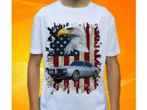 tričko s autem Pontiac Firebird 1968