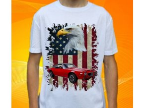 tričko s autem Pontiac Firebird