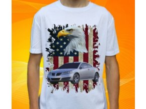 tričko s autem Pontiac Firebird G6 Coupe
