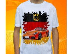 tričko s autem Porsche 718