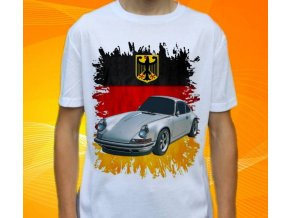 tričko s autem Porsche 911