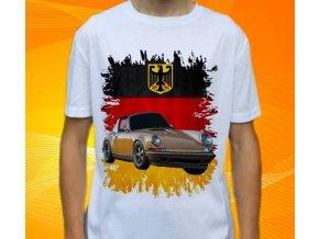 tričko s autem Porsche 911 Singer
